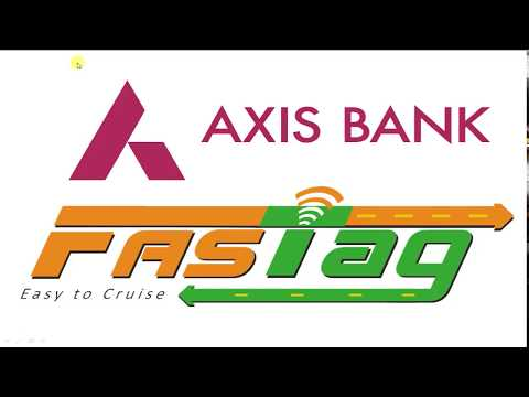 How to Recharge Axis Bank FasTag
