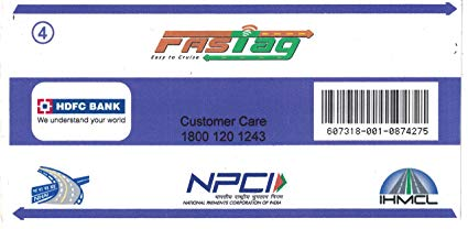 HDFC Fastag Details Online