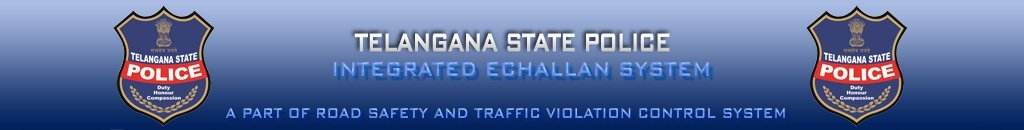Hyderabad Traffic Challan Details Online