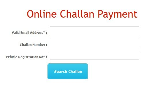 Jalandhar Traffic E Challan Status Check Pay Online