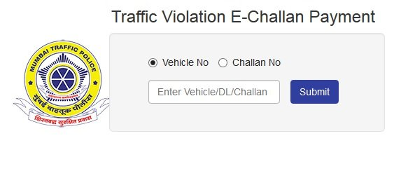 Mumbai Traffic Police E Challan Check Payment Online