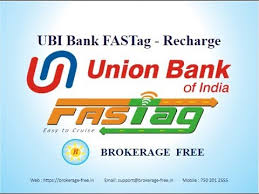 Union Bank of India FasTag Apply Online, How to Recharge
